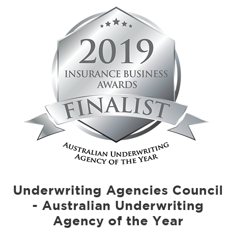 Australian Underwriting Agency of the Year - 2019 FINALIST